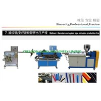 High Outout Plastic Corrugated Pipe Extrusion Production Line