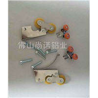 Sliding door accessories, Wheels and screws for sliding door