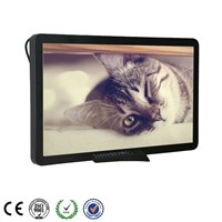 23Inch High Definition Bus/Car Digital Signage LCD Media Player