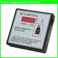 ALKcar cartool Digital Frequency cymometer 100Mhz -1Ghz remote control radio frequency counter