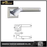 China competitive price aluminum door handle