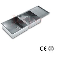 304 Stainless steel material kitchen handmade sink