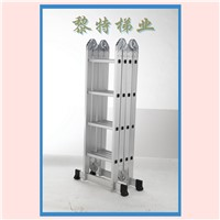 China OEM For sale Aluminum Multi Porpose Ladder Household Folding extension Ladder