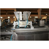 chocolate tempering and molding machine for chocolate production