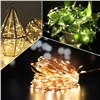 Christmas wedding decoration led copper string light,battery operated led christmas light