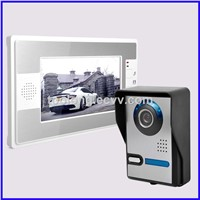 7 Inch TFC Color Video Door Phone,LCD Display Video door bell