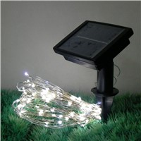 Automic solar led sting light for christmas,wedding decoration