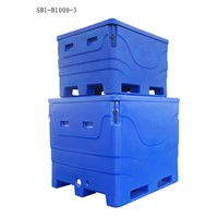 1000 Liter Durable Insulated Fish Container