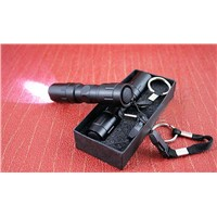 Dipusi high quality waterproof LED white light POLICE flashlight