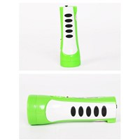 Dipusi mini LED light rechargeable household small plastic flashlight