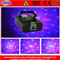 Lanling 8 gobos disco Christmas party  twinkling mini laser light