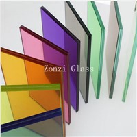 Tinted Building Tempered Low E Laminated Glass
