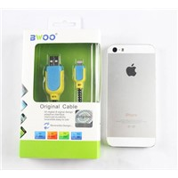 USB data and charging Cable for iphone 5 6s,lightning cable with MFI Certification