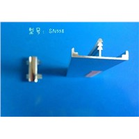 aluminum T profile with zinc alloy corner