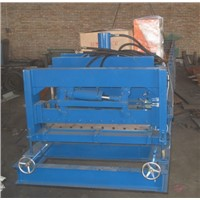 metal steel tile roll former machine