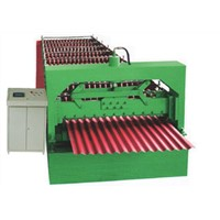 metal corrugated sheet roll forming machine