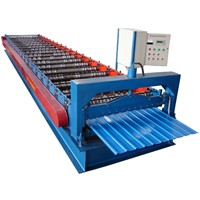 metal sheet wall panel forming machine