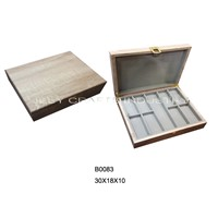 Wood Texture Jewelry Box(B0083)