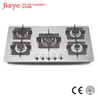 2015 hot sale stainless steel surface industrial gas stove JY-S5028