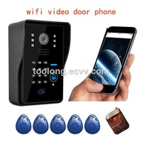 2016 Hot salling wireless video camera WIFI door camera photo