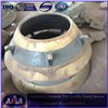High manganese steel cone crusher bowl liner concave mantle