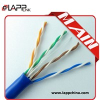 lan cable cat 5e networking cable with utp twisted pair cable