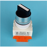 2 way push button switch auto lock   LAY37,Y090-11X/2