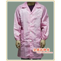 5mm Strip Unisex Antistatic Smock Gown