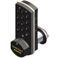 Electric Padlock with Alarm and Cam