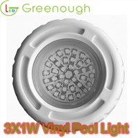 Vinyl Inground LED Pool Light/Underwater LED Pool Lights 3W