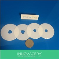 Zirconia Ceramic Rottary Cutter Blade For Cutting Cotton Cloth/INNOVACERA
