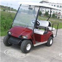 4 Seater Electric Golf Car with Blue Color for Sale