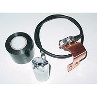 HTDT Clamp-Strap Coaxial Cable Earthing Kits