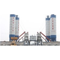 HZS75concrete batching plant technical specifications