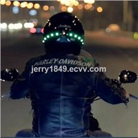 LED Motorcycle Helmet Smart Safety Lights 2015 NEW