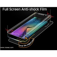 Mobile phone Accessories full cover anti shock screen film for Samsung Galaxy S6 edge