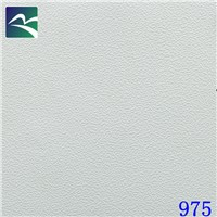 PVC laminated gypsum ceiling tile for ceiling decoration(600x600mm)