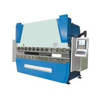 WE67K serious Delem system electro-hydraulic synchronized CNC press brake machine