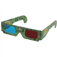 New arrival promotional cheap colorful OEM paper 3d glasses for sale