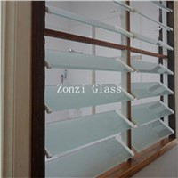 6mm Heat Strengthened Window Louvers Glass