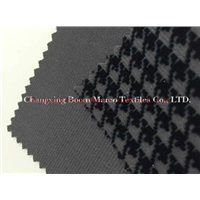 polyester warp knitted one side brushed and printed fabric(BM1054P)
