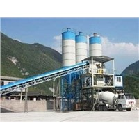 concrete batching plant in Algeria with sandwich panels