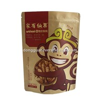 Eco-friendly Recycled Brown Kraft Paper Bag For Food Packaging