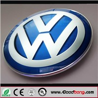 new arrival custom round car logo emblem , badge emblem sticker logo, car badge and logos