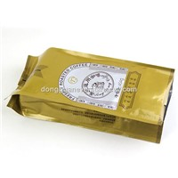 OEM Customized Plastic Packaging Coffee Bags With Side Gusset