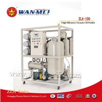 ZLA-100 Double Stage Vacuum Transformer Oil Purifier