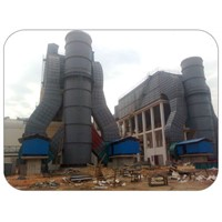 bag filter blast  furnace dest collector in smoke treatment