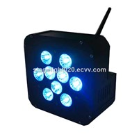 Good Price 6 in 1 RGBAW UV Battery Wireless Wedding Light for Sale