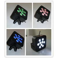 6 in 1 RGBAW UV Battery Powered LED Par Can