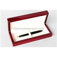 rosewood high gloss finish wooden pen box